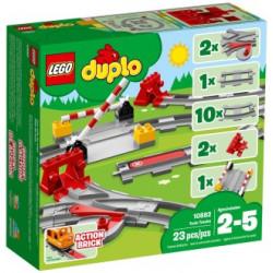 LEGO DUPLO : Vías ferroviarias