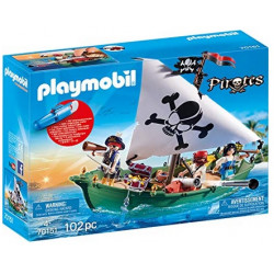 PLAYMOBIL : Barco Pirata...