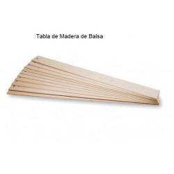 Tabla de BALSA  8 mm Medias...