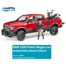 BRUDER : Vehiculo RAM 2500...