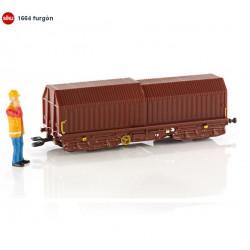 SIKU :  Vagon de Mercancias