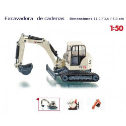 SIKU : EXCAVADORA escala 1:50