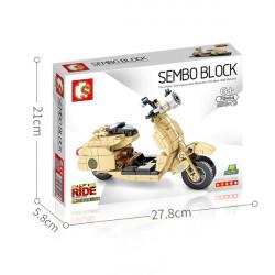 SEMBO BLOCKS : MOTO VESPA...