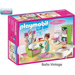 PLAYMOBIL Dollhouse : BAÑO...