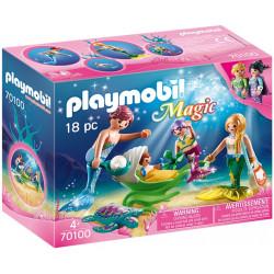 PLAYMOBIL : Familia con...
