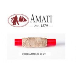 AMATI : HILO ALGODON 0,5 mm...
