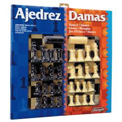 FOURNIER : AJEDREZ + DAMAS...