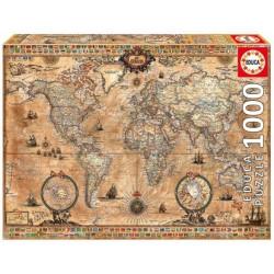 EDUCA : 1000 piezas MAPAMUNDI