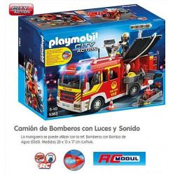 PLAYMOBIL : Camion de Bomberos