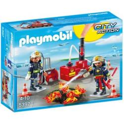 PLAYMOBIL : EQUIPO DE BOMBEROS