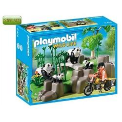 PLAYMOBIL : Pandas en el...
