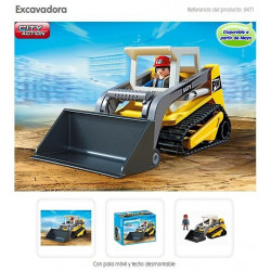 PLAYMOBIL : Excavadora