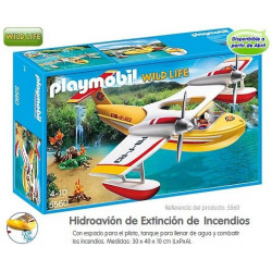 PLAYMOBIL : HIDROAVION de...