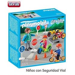 PLAYMOBIL : NIÑOS CON...