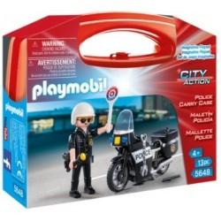 PLAYMOBIL : MALETIN POLICIA