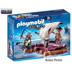 PLAYMOBIL : Balsa Pirata