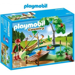 PLAYMOBIL : LAGO CON ANIMALES
