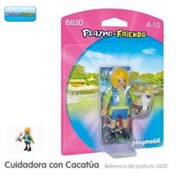 PLAYMOBIL : CUIDADORA CON...
