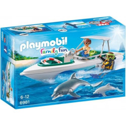PLAYMOBIL : EQUIPO DE BUCEO...