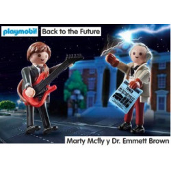 PLAYMOBIL : BACK TO THE...