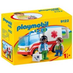 PLAYMOBIL : 1.2.3 Ambulancia