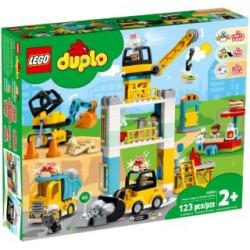 LEGO DUPLO : GRUA TORRE Y OBRA