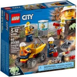 LEGO CITY : Mina: Equipo