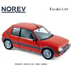 NOREV : PEUGEOT - 205 GTI...