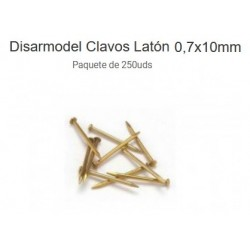 DISMOER : CLAVOS DE LATON...