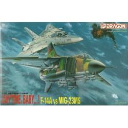 DRAGON : F- 14 A  vs MIG-23...