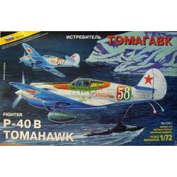 ZVEZDA: P-40B TOMAHAWK...