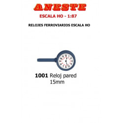 ANESTE : RELOJ PARED  15 mm...