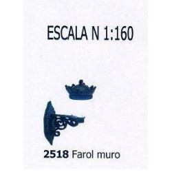ANESTE : FAROLA de MURO...