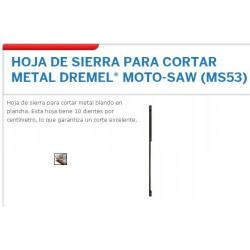 DREMEL : HOJA DE SIERRA...