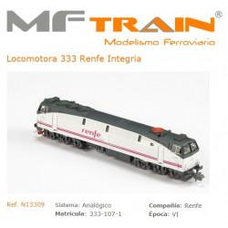 MF TRAIN: Locomotora 333...
