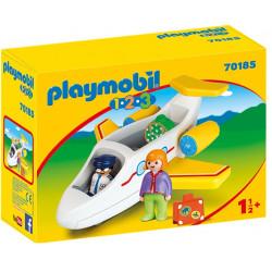 PLAYMOBIL : 1.2.3  Avion...