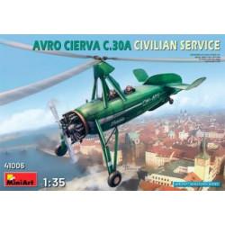 MINIART : AVRO CIERVA C 30...